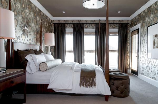 20 Ravishing Black Drapes For The Bedroom Home Design Lover