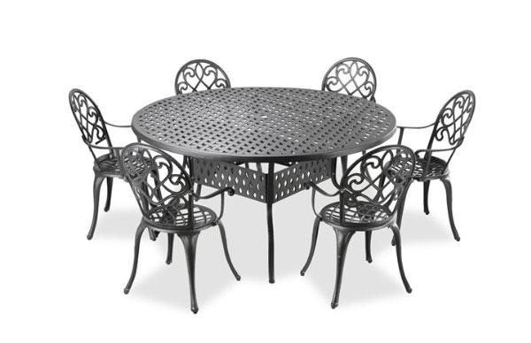 Cast Aluminum Outdoor Furniture Set