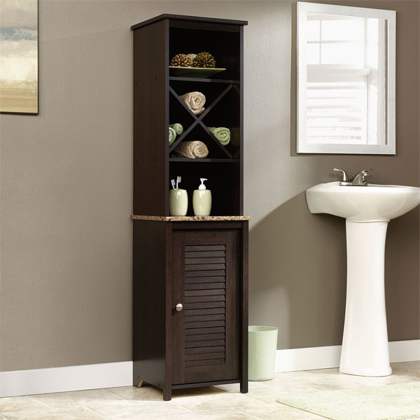 20 clever designs of bathroom linen cabinets   home design lover