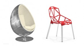 20 Modern Designs of Gleaming Aluminum Chairs