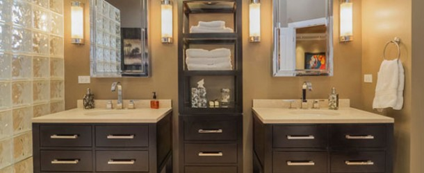 20 Clever Designs of Bathroom Linen Cabinets