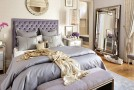 20 Contemporary Bedrooms with Silver Accents