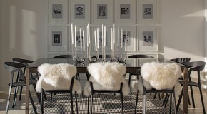 20 Ways to Use Black and White Decors in the Dining Room