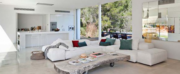 The Unusual Layout of Can Frit Home in Ibiza