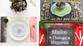 22 DIY Placemats For Beautiful Dining Setting
