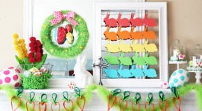 20 Vibrant DIY Easter Themed Mantel Designs