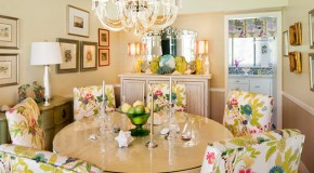 20 Dining Rooms Adorned With Flowers