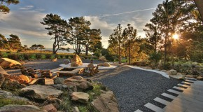 26 Decorative Ideas of Landscaping with Gravel