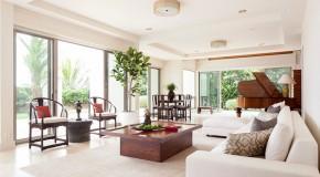 Indoor Plants Adorn 20 Contemporary Living Rooms