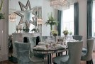 20 Beautiful Dining Rooms with Silver Accents