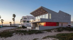 Peculiar Qualities of the Silver Strand Beach House in California