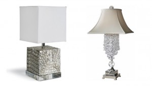 sliver lamps