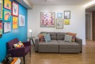 Colorful and Multi-functional Features of the Interiors in Trama Apartment in Brazil