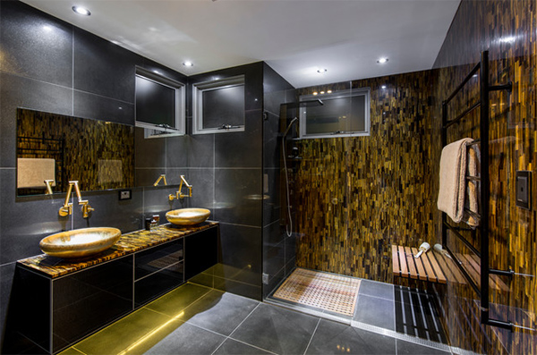 Bathroom Ideas Gold here are 20 ideas to add gold in your bathroom | home design lover