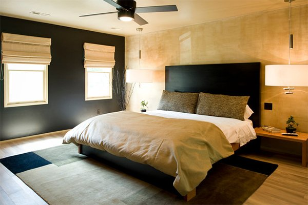 Gold Accents bedroom