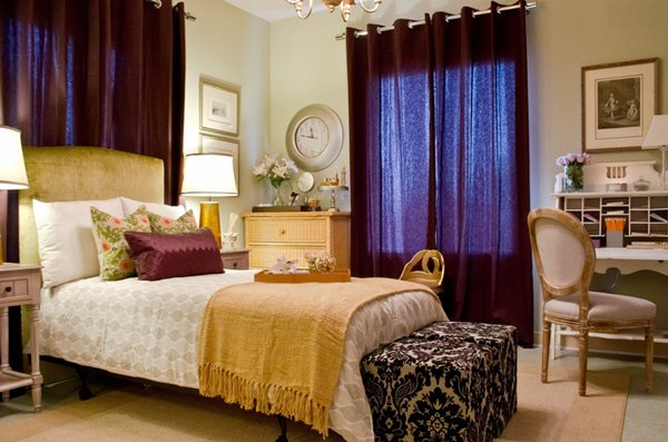 purple and gold bedroom 20 pleasant purple and gold bedrooms home design lover 16815 | 11 Shirri Dolgin11