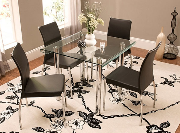 glass dining