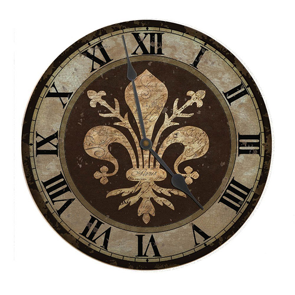 20 French And Antique Fleur De Lis Wall Clocks Home