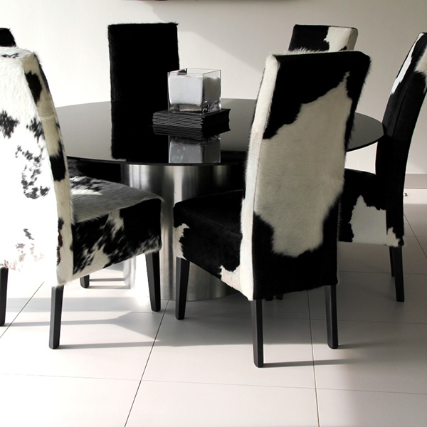 cowhide dining chairs grace 20 lovely dining areas home design lover