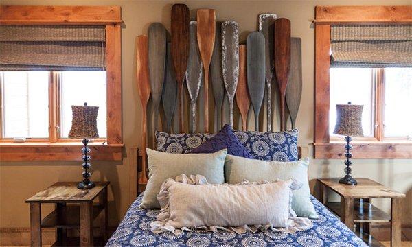 oars headboard decor
