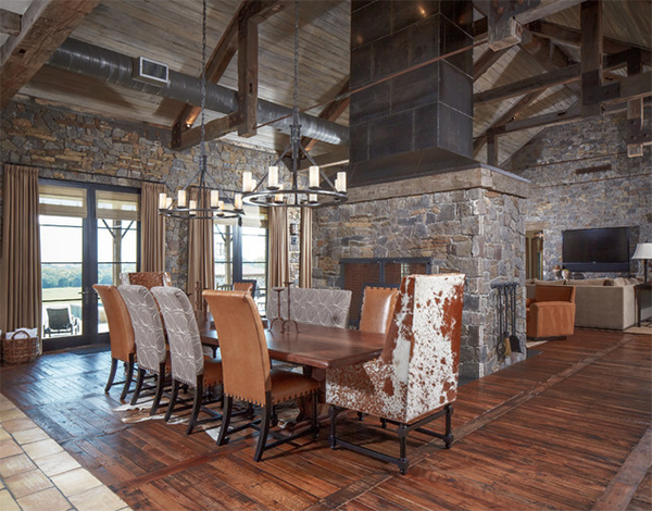 Ranch - Cowhide Dining Chairs Grace 20 Lovely Dining Areas Home Design Lover