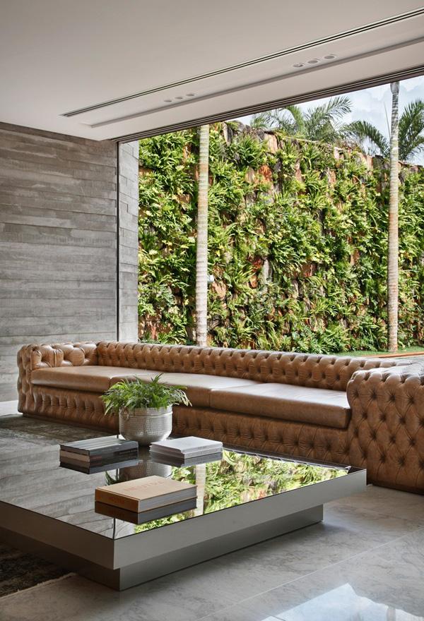 Green plants decoration
