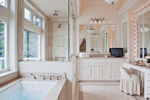 20 gorgeous bathrooms with silver accents home design lover