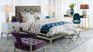 geo patterns bed