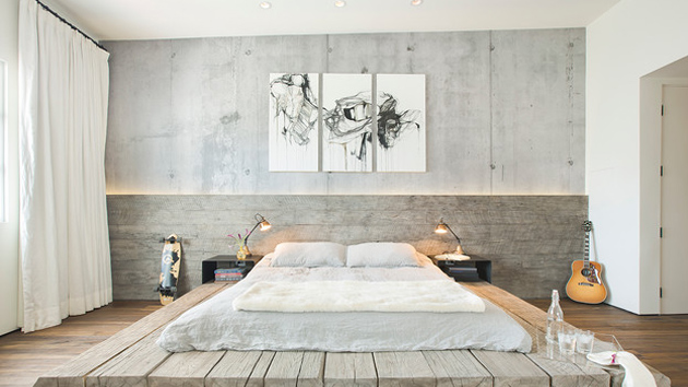 20 manly ways to decorate the headboard home design lover for Masculine headboards