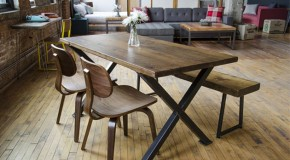 23 Rustic Appeal of Plank Dining Tables