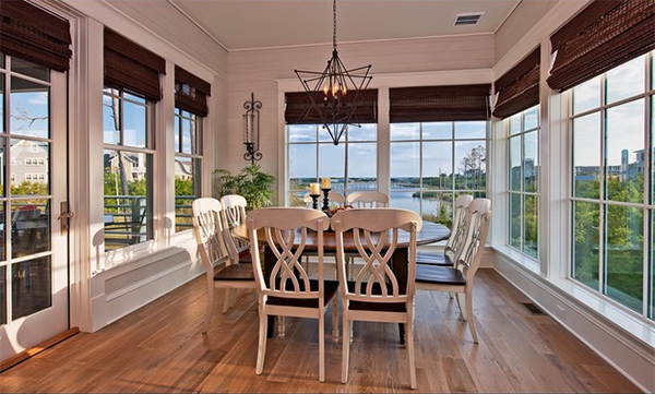 Watersound House  Seagrove  Florida. 20 Dining Areas with Roman Shades   Home Design Lover