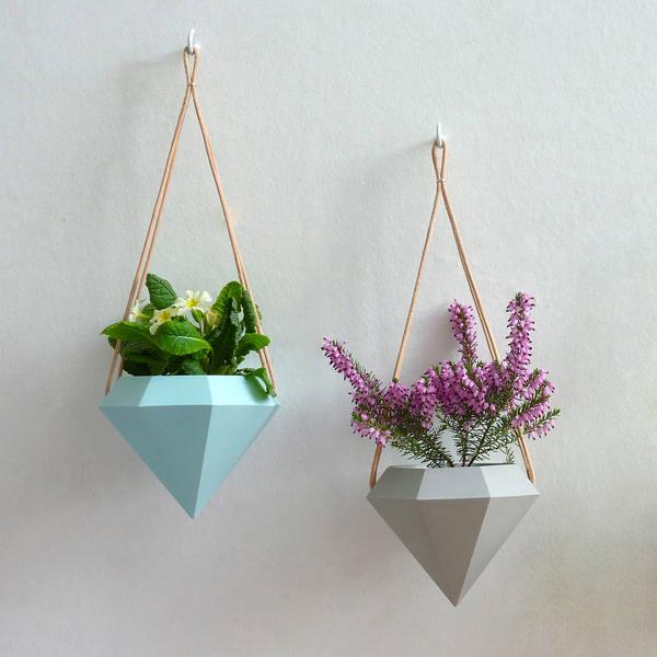Attn Studio16 - 24 Pretty Ceramic Hanging Planters Home Design Lover