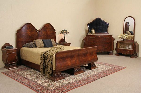 20 Snazzy Art Deco Bedroom Set To Die For | Home Design Lover