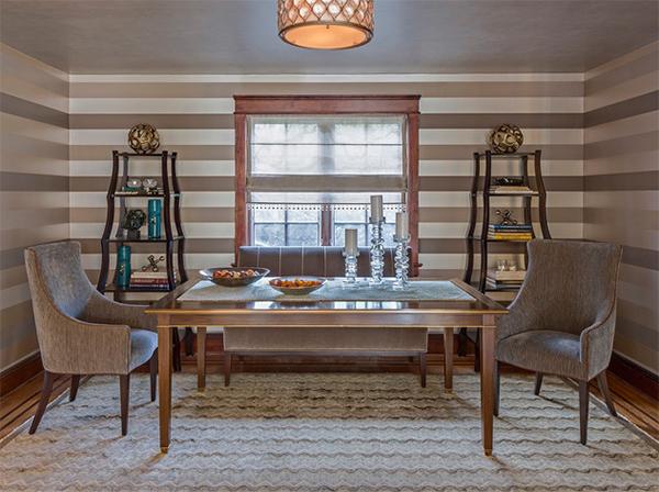 غرف الطعام الانتقالية مع الأرضيات بالسجاد 3-tudor.jpg