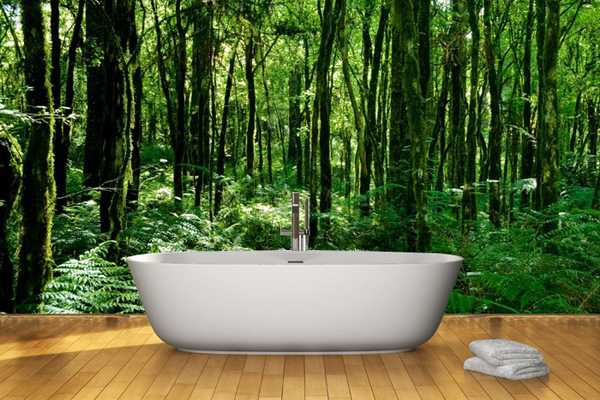 20 Neat Bamboo Themed Bathrooms Home Design Lover