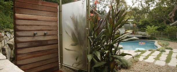 outdoor shower tips