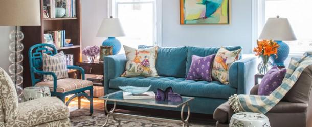 living room sweet special design sofa   20 Regal Velvet Sofas Creating Special Living Room Designs ...