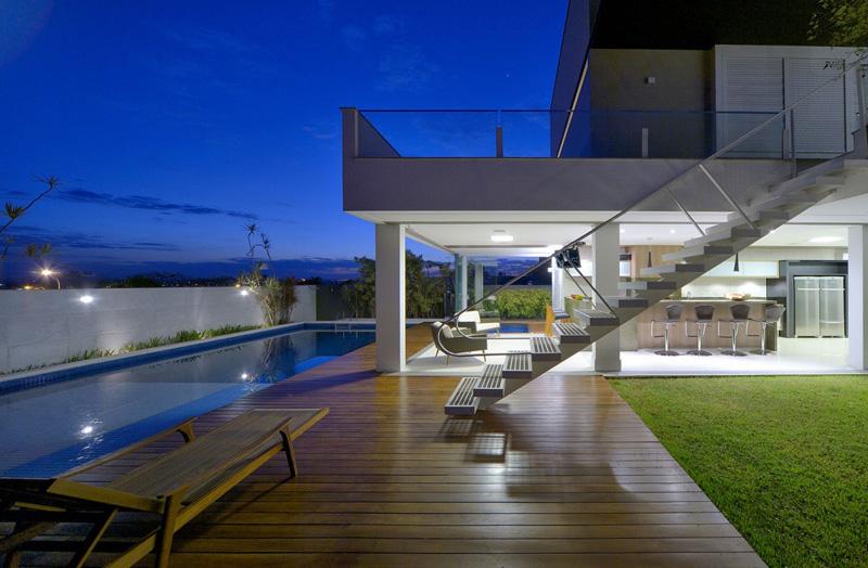 Casa Jabuticaba pool