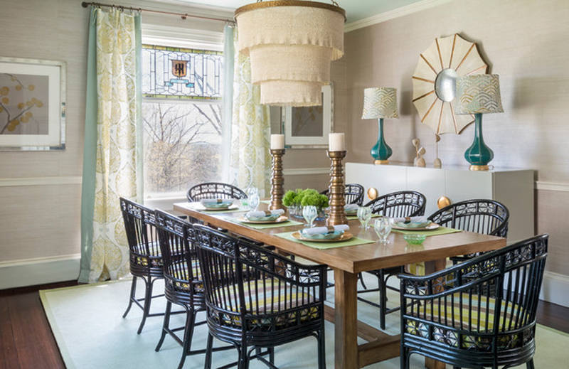 23 contemporary dining rooms with white buffet tables