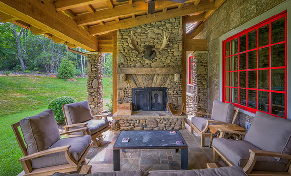 22 Porch Designs Using Natural Stone Pavers Home Design