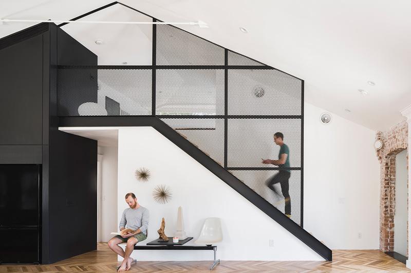Contemporary Duplex Apartment Interior in Phoenix, Arizona ...