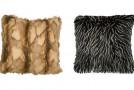 animal fur pillows