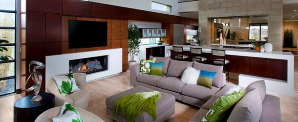 contemporary living room tips