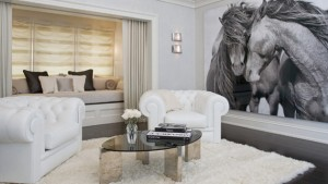 living room fur