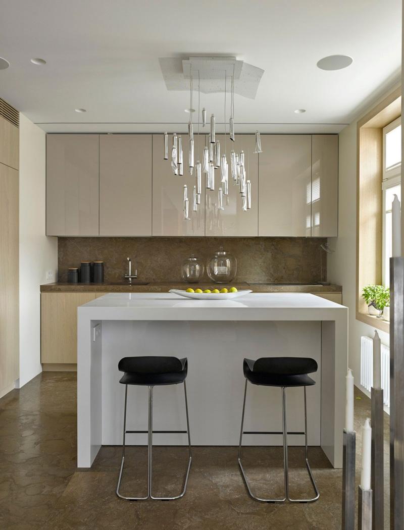 Apartment Interior Design Kitchen