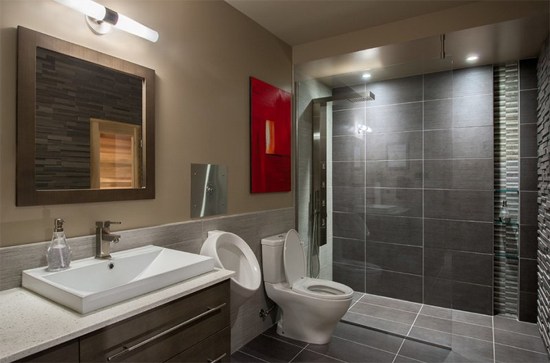 basement spa bathroom - Bathroom Design Ottawa