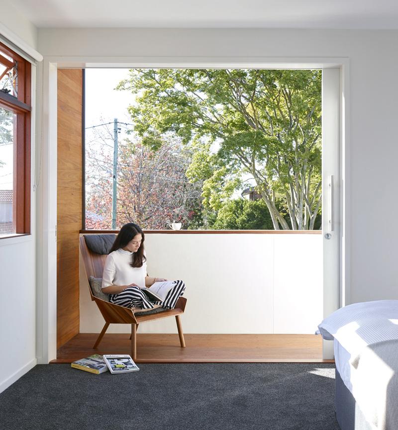 modern minimalist House window