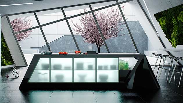 surprising ultra modern kitchen designs | 20 Ultra Modern Kitchens Every Cook Would Love to Own ...