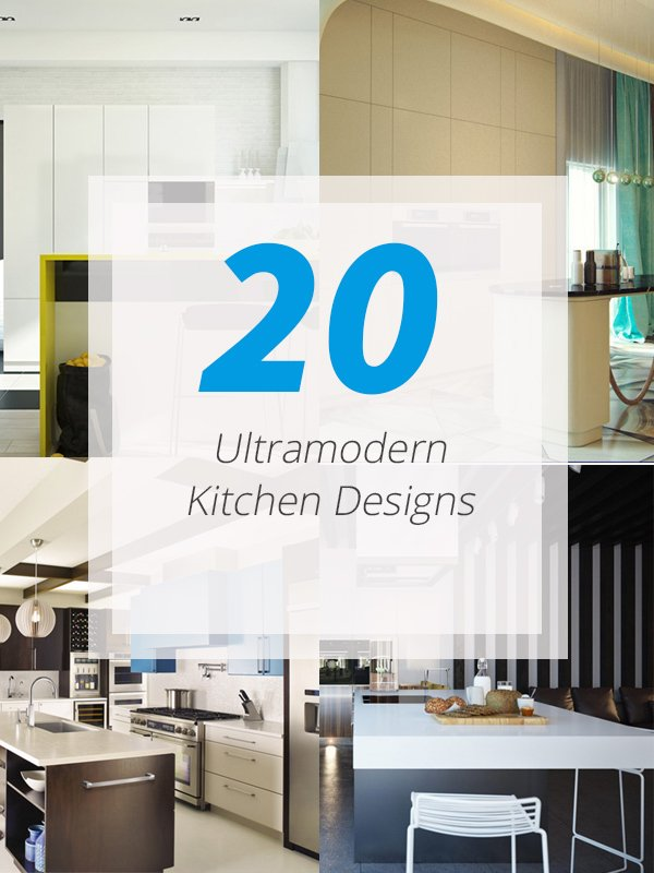 20 ultra modern kitchens every cook would love to own | home