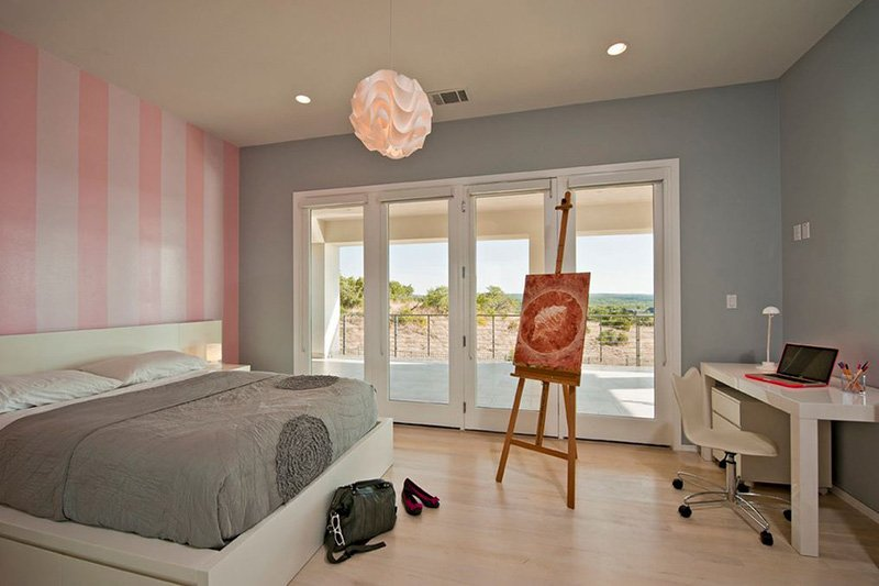 20 Elegant and Tranquil Pink and Gray Bedroom Designs – Grey Bedroom Walls